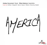 album cover for America